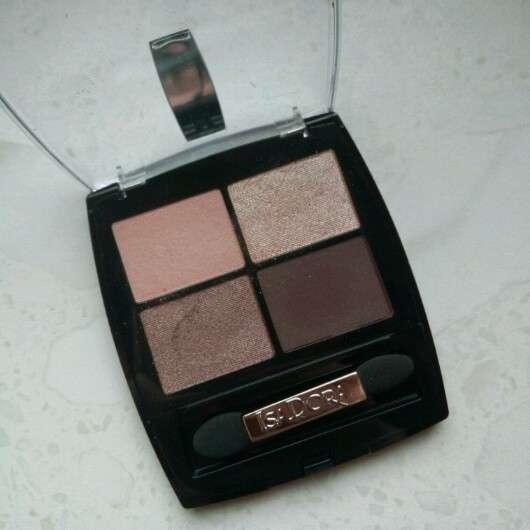 IsaDora Eye Shadow Quartet, Farbe: 06 Nude Sand