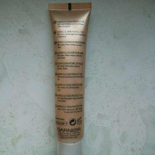 Garnier Skin Naturals BB Cream Miracle Skin Perfector (Hell)