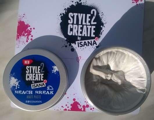 ISANA HAIR Style2Create Beach Break Matt Paste