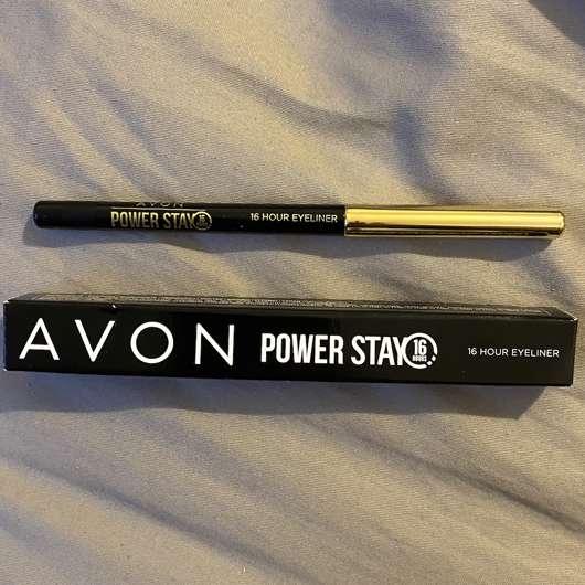 AVON POWER STAY 16-Stunden-Augenkonturenstift, Farbe: Carbon Black
