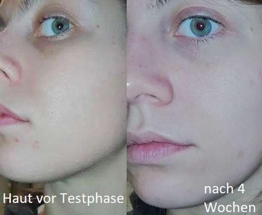 Gesicht ohne Pixi +C Vit Brightening Perfector