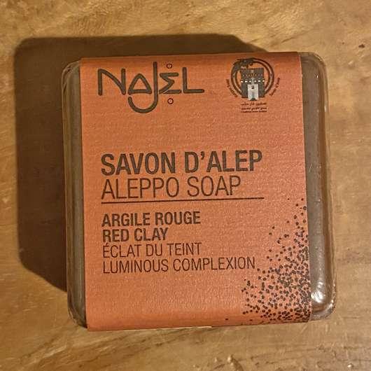 Najel Aleppo Seife – Rote Tonerde