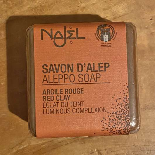 <strong>Najel</strong> Aleppo Seife – Rote Tonerde
