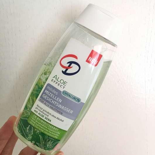 CD Aloe Effect Mildes Mizellen Gesichtswasser
