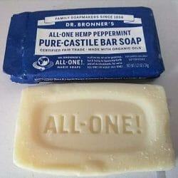Produktbild zu Dr. Bronner's All-One Hemp Peppermint Pure-Castile Bar Soap