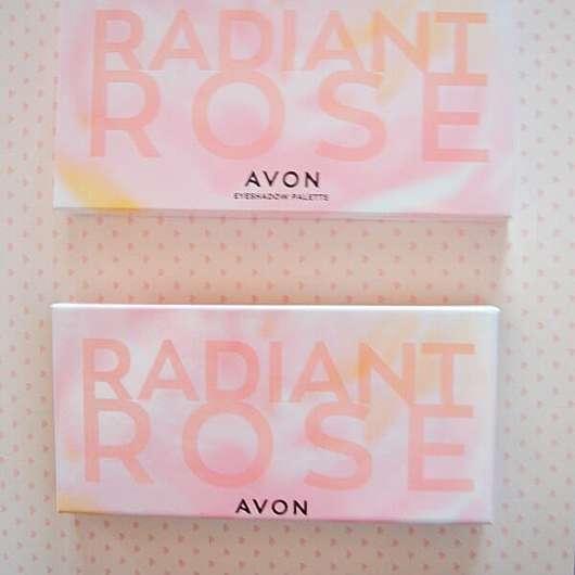 AVON Radiant Rose 10-in-1 Lidschatten-Palette