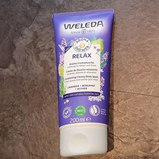 Weleda Relax Aroma-Cremedusche