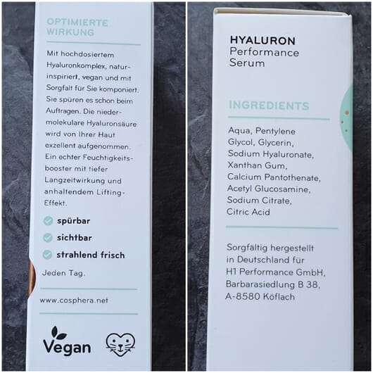 Hyaluron Performance Serum