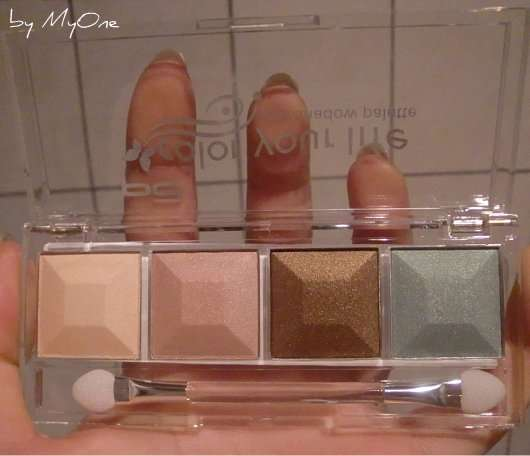 p2 color your life eye shadow palette, Farbe: 020 morning dew